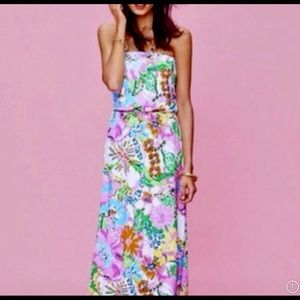LILLY PULITZER for Target magical maxi dress, sz S